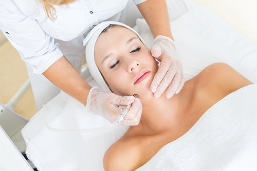 Advanced Skincare Facial San Diego
