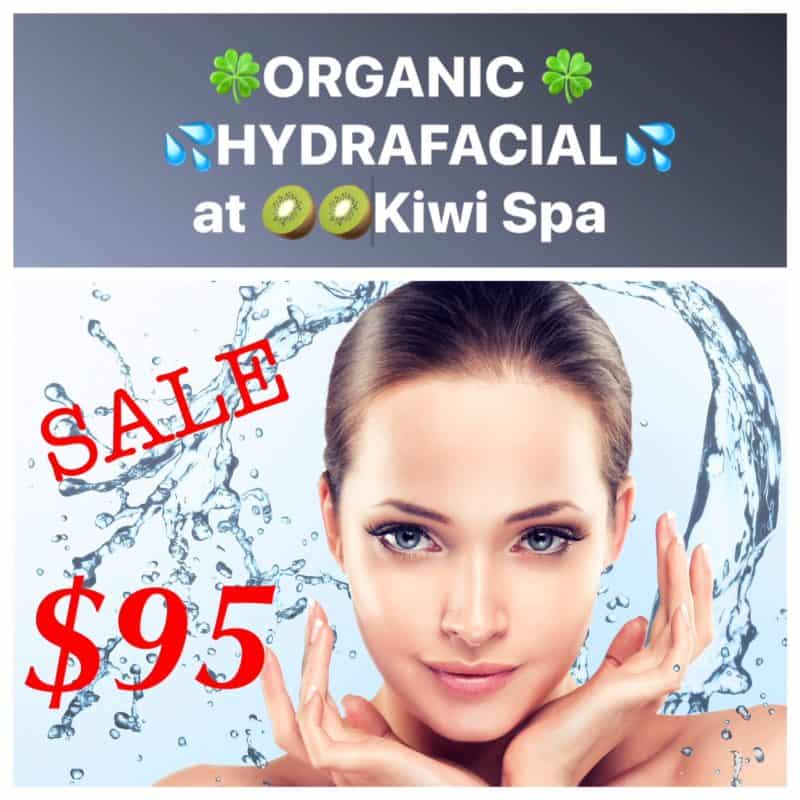 Kiwi Spa Organic facial innovation organic